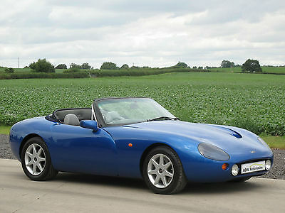 1996 TVR Griffith 500 Convertible - Olympic Blue