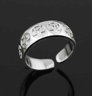 925 Solid Sterling Silver Plated Women/Men NEW Fashion Ring Gift SIZE OPEN HDA30