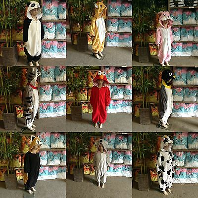 Kids Children Kigurumi Animal Costume Onesie
