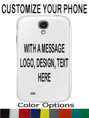Custom Personalize Decals for Cell Phones, Iphone, Galaxy S4, S5,S6,ETC