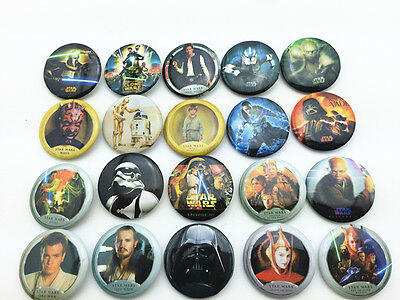 20pcs Star Wars Children Badge Button Pin Kid Toy/party Gifts