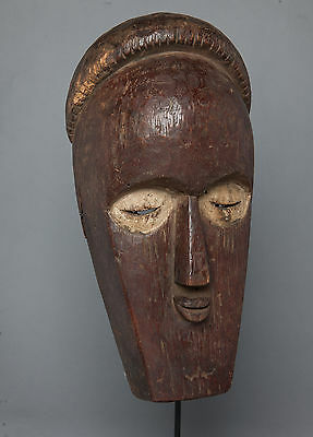 Bembe Face Mask, D.R. Congo, Zambia, African Tribal Statue
