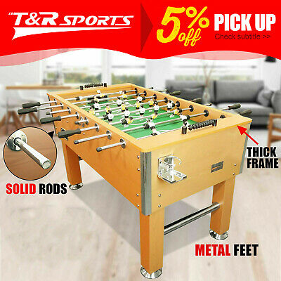 5FT Soccer Table Pub Size 4 Drink Holders Walnut FREE DELIVERY/T&C
