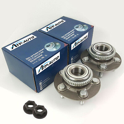 2 Genuine Machter Ford Falcon Front Wheel Bearing Hubs Nuts AU/BA/BF Territory