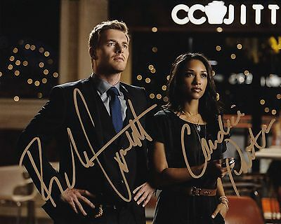 Signed 8x10 Photo Ej4 Coa Rick Costnett Gfa The Flash Eddie Thawne