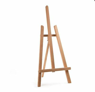 "Beech Wood 600Mm 24"" Artist Easel Artwork Display Table Setting Craft Wedding"