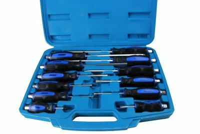 Bergen 12pc Mechanic GO-THROUGH INDUSTRIAL SCREWDRIVERS B1535