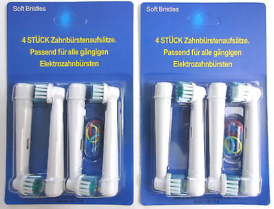 8x Electric Replacement Toothbrush Brush Heads SB-17A (8pcs)