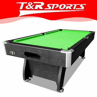 New 8Ft Modern Design Mdf Pool Table Snooker Billiard With Free Accessory Kit