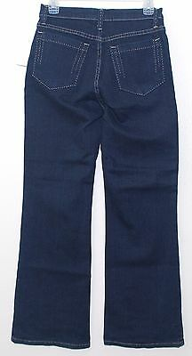 NYDJ LIFT TUCK THE SARAH BOOT JEANS IN DARK BLUE size 6P P717
