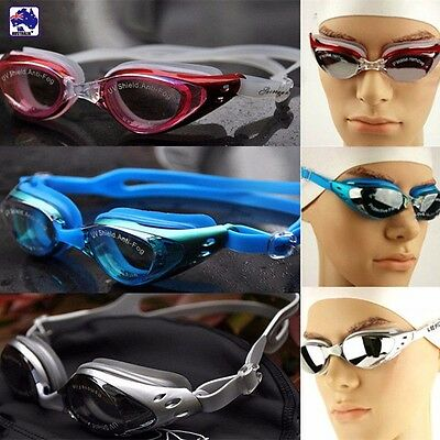 Swimming Goggles Anti Fog UV-Proof Adult Swim Gear Glasses Adjustable OSWGL 61