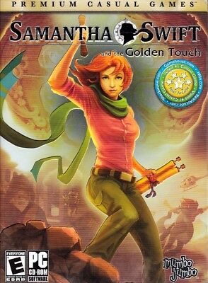 Samantha Swift and the Golden Touch (PC Game) Solve Puzzles, Collect Artifacts