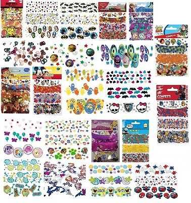 3Pk CONFETTI Variety of Childrens Charecters {Amscan} - Choice of 23