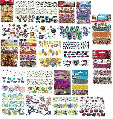 VALUE PACK CONFETTI (34g) Licensed Character Birthday Party Table Decorations