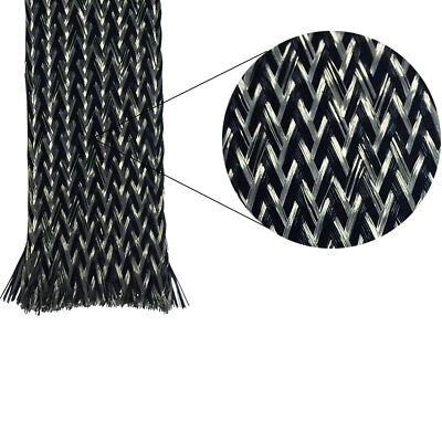 Tinned Copper Metal / PET Braided Sleeving - Electriduct
