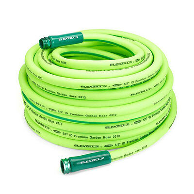 "Flexzilla HFZG5100YW ZillaGreen 100' x 5/8"" All-Weather Garden Hose, 3/4"" GHT"