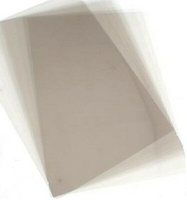 100 A3 Acetate Sheets CLEAR Transparency OHP Acetate Film WOW!  140 micron