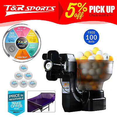 iPong V300 Table Tennis Robot/Trainer + Ball Catching Net Free Delivery