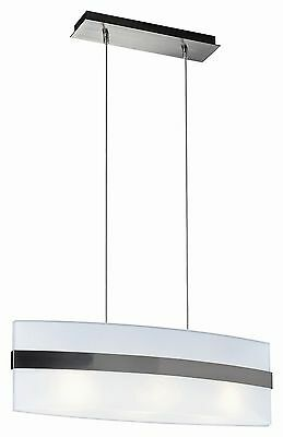 Brushed Nickel Contemporary 34 Chandelier Pendant