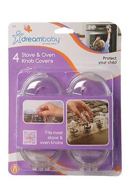 4x Dreambaby Stove knob covers Stove safety Oven Protection protection Stove
