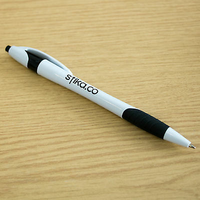 Custom Printed Ball Point Click Pens Personalised with your Company Name or Logo