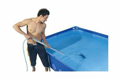 "84"" Swimming Pool Spa Maintenance Cleaning Kit Net And Vacuum Skimmer"