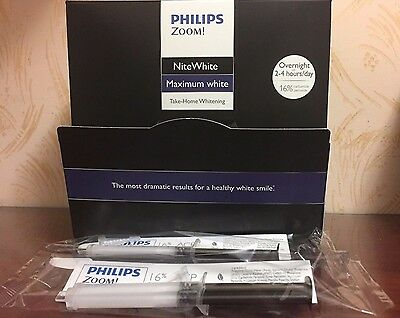 Philips ZOOM! 16% NiteWhite Maximum White- 2 Syringes
