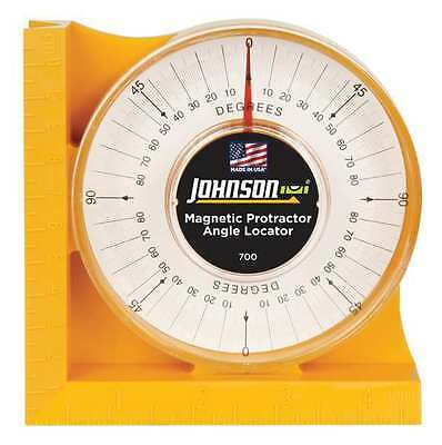 "NEW JOHNSON 700 Protractor Angle Finder 4"" Magnetic  - FREE SHIPPING"