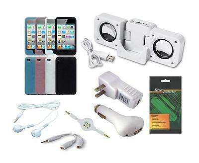 11 Item Accessory Bundle Combo Kit Set for Apple iPod Touch 4th Generation