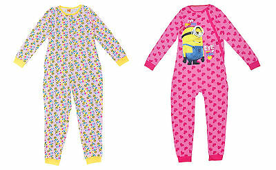 Girls Pyjamas Sleepsuit Despicable Me Minions 3 4 5 6 7 8 9 10 11 12 & 13 Years