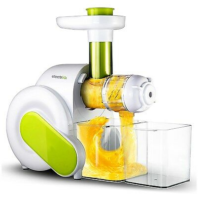 ElectriQ Slow Masticating Juicer Fruit Vegetable Cold Press Juice Extractor
