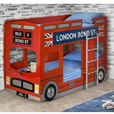 London Bus Childrens Novelty Bunk Bed