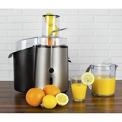 WF1000 Whole Fruit Power Juicer 990 W in Stainless Steel with Jug