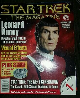 Star trek the magazine December 2002 collector edition cover 1 of 2