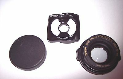 TIFFEN Wide Angle Camera Lens Converter 0.65 x 37 mm Snap-On for HP C200/C30/C20