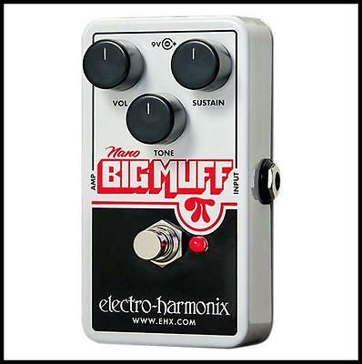 Electro-Harmonix Nano Big Muff Guitar Effects Pedal  sustain with attitude New