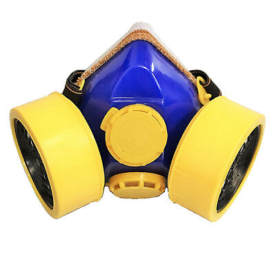 Industrial Chemical Gas Anti-Dust Spray Paint Dual Respirator Mask