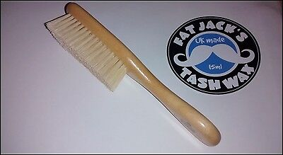 Kent BA21 Soft Pure Bristle Baby Hair Brush - Satinwood - CHEAPEST - Ideal Gift