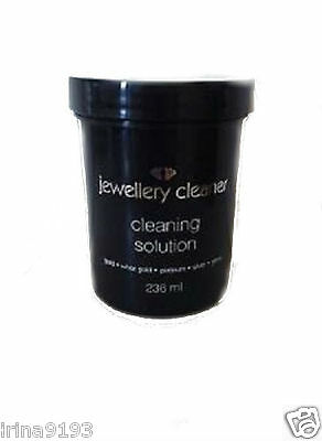 Jewellery cleaner liquid cleaning solution Gold/Silver/Gems/Platinum 236ml