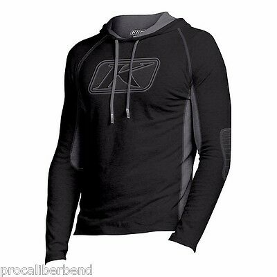 Klim Midnight Hoodie Black S M L Xl 2Xl 3Xl 6041 2016 Fall Winter Cold Apparel