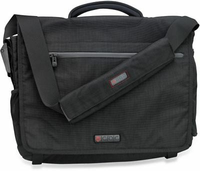 ECBC Zeus Messenger Laptop Computer Bag BLACK K7203-10