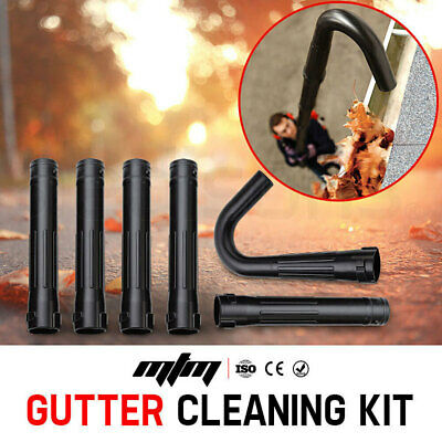 NEW MTM Gutter Cleaning Kit for MTM Blower 30cc - Extension Adaptor Leaf