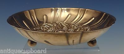 Repousse by Kirk Sterling Silver Candy Dish w/Fruit Carved In Bowl #431 (#0534)