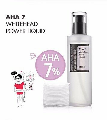 [COSRX] AHA 7 Whitehead Power Liquid 100ml w/ Free Sample