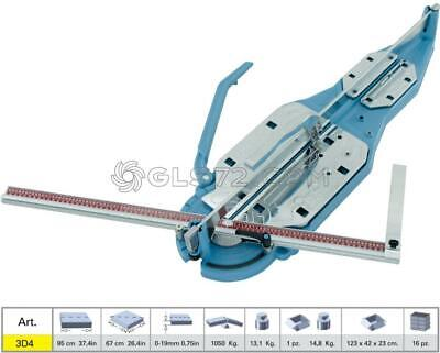 TILE CUTTER SIGMA 3D2 MACHINE MANUAL PROFESSIONAL CUTTING LENGHT 95cm