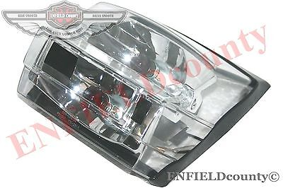 Vespa Clear Tail Light / Rear Stop Lamp E Marked Px 125 Px 150 Scooter