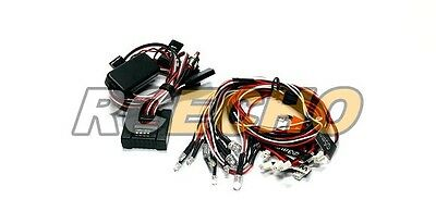 GT POWER RC Car Controlled / Simulated and Flashing Light System LE854