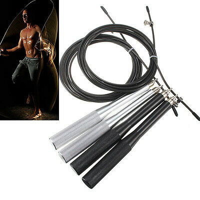 Metal Speed Adjustable Jump Rope Ultra fast Crossfit Alambre Cable Skipping