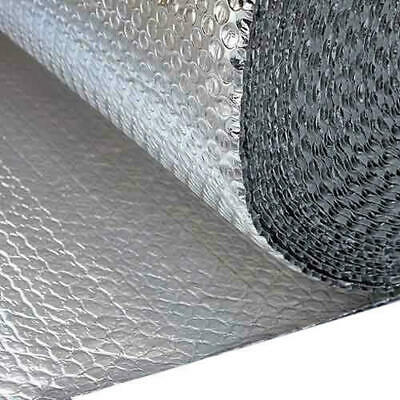 30m2 2:1 Double Foil Bubble Insulation MP 1.2m x 25m loft ceiling insulation