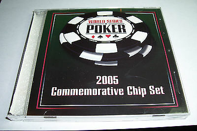 Palms World Series Of Poker 2005  C-D Case New Condition Holds 5 Chips
